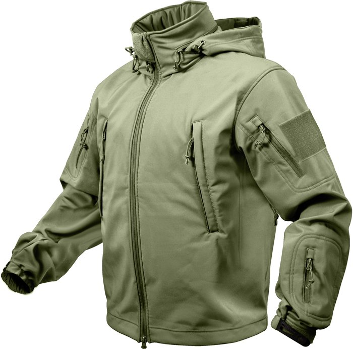 Куртка Rothco Special Ops Tactical Soft Shell Jacket - Olive Drab