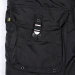 Cobbs ll black pocket with logo label