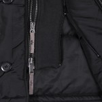 Cobbs ll black zippers