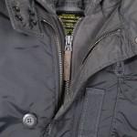 Cobbs ll dark gun metal collar detail