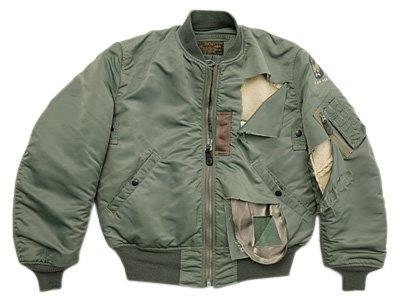 винтажная куртка MA-1
