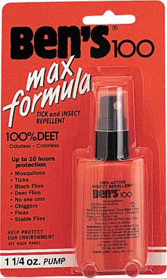Репелент от насекомых Ben's 100 Insect Repellent Spray Pump