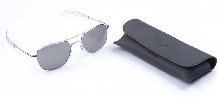 Очки пилота AO® The ORIGINAL Pilot® Sunglasses 52mm - Chrome Frame