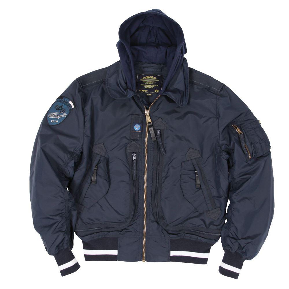 Куртка летная Alpha Industries Liquid Racer Jacket Blue