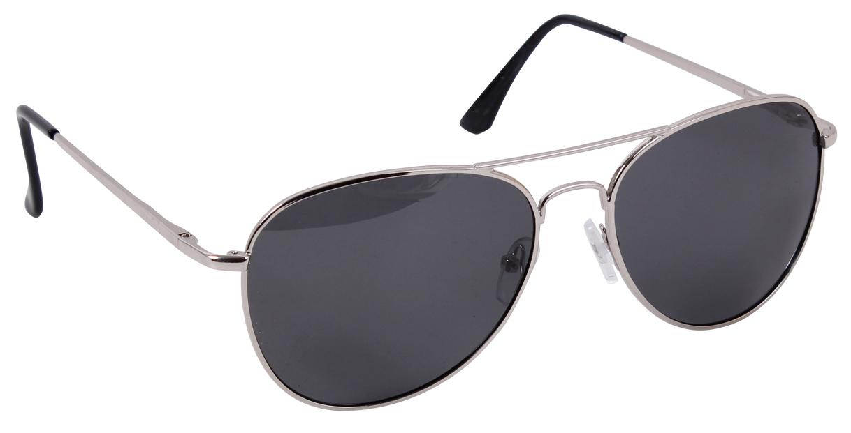 Очки поляризационные Rothco Aviator Polarized Sunglasses 58mm - Chrome / Smoke - 22009