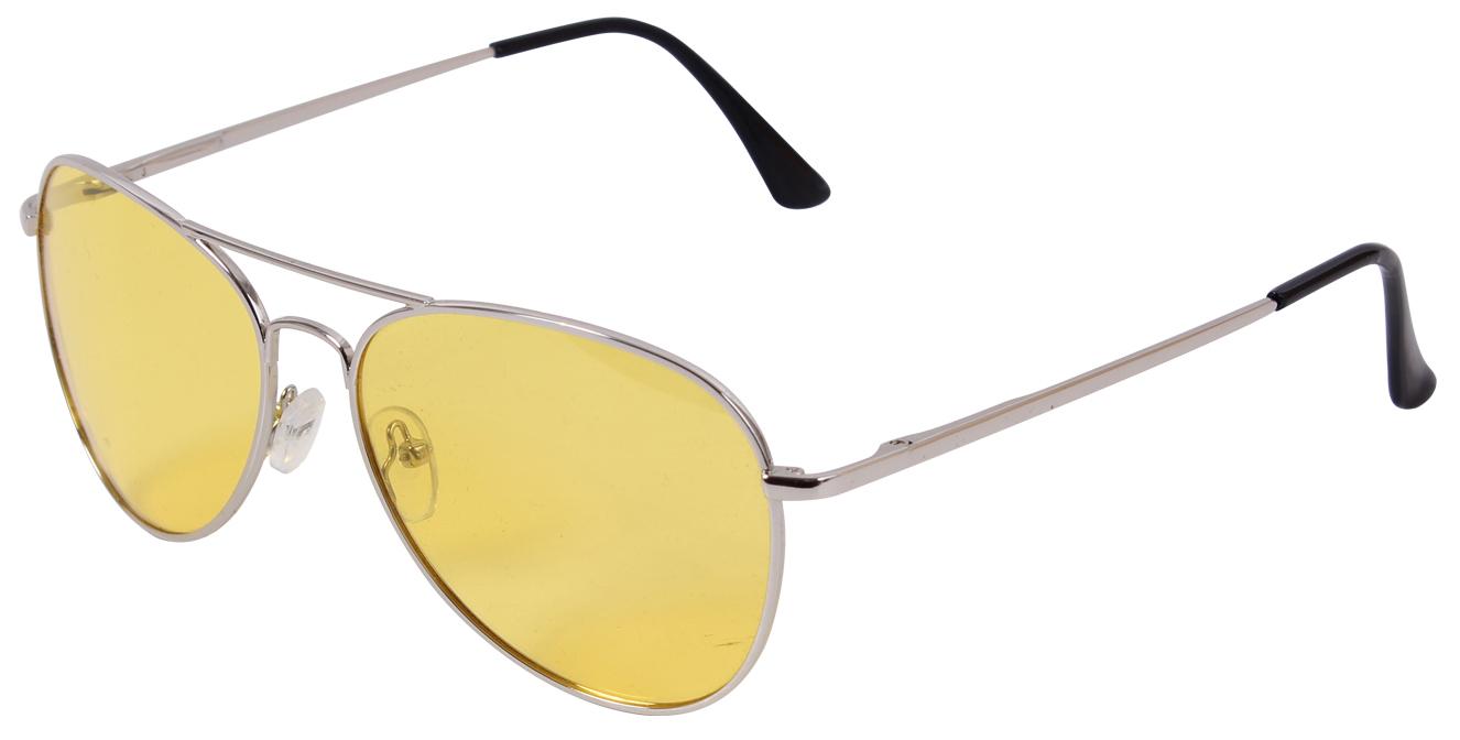 Очки поляризационные Rothco Aviator Polarized Sunglasses 58mm - Chrome / Yellow - 22209