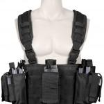 Разгрузочный пояс оператора Rothco Operators Tactical Chest Rig - Black - 67550