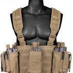 Разгрузочный пояс оператора Rothco Operators Tactical Chest Rig - Coyote Brown - 67551