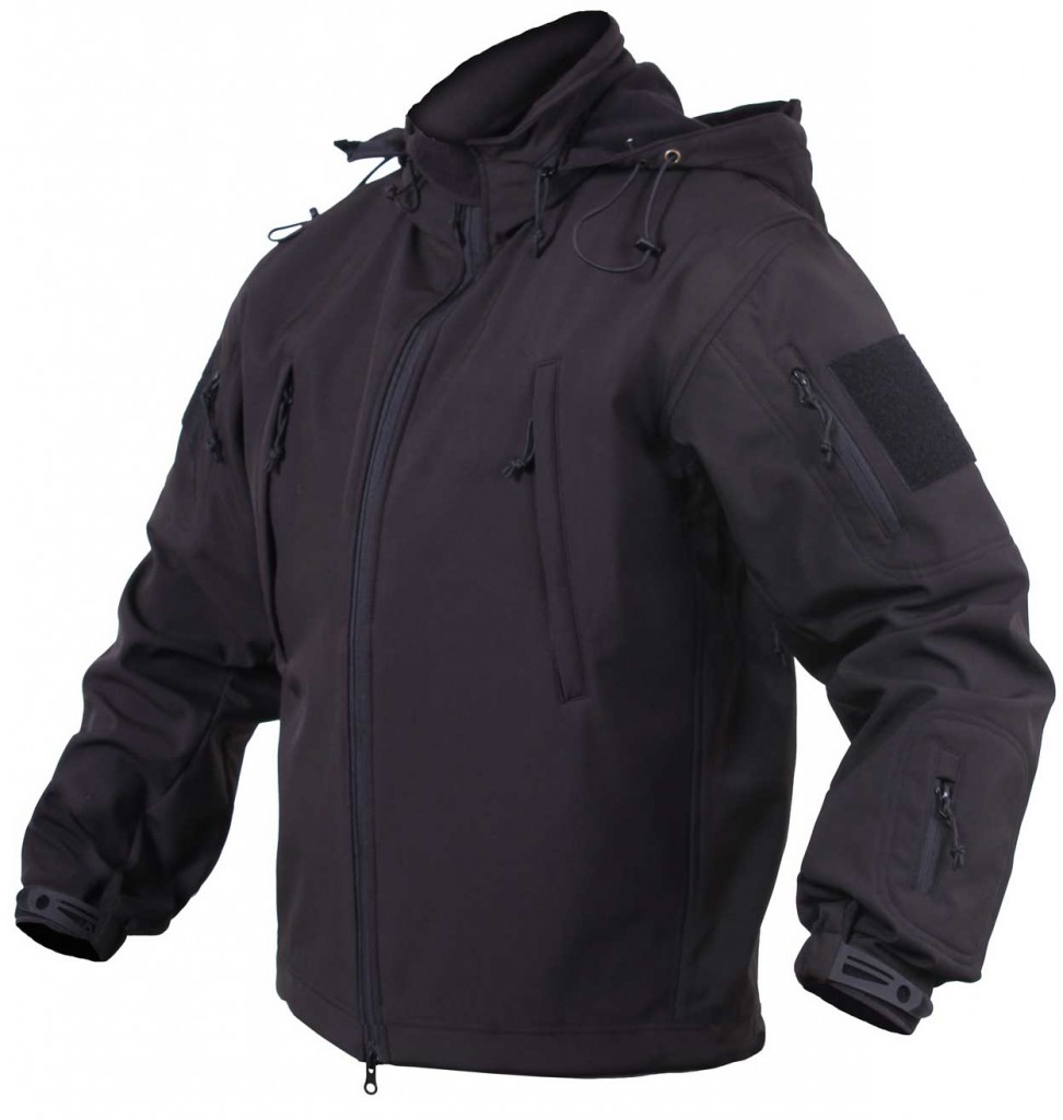Куртка Rothco Concealed Carry Soft Shell Jacket - Black - 55385