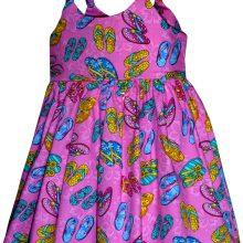 Детские гавайские сарафаны 130 Toddler Girl's Bungee Dress