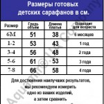 130 size chart