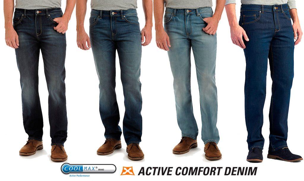 Мужские джинсы Lee с технологией Coolmax® для любой температуры купить Киев