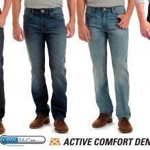 Мужские всесезонные инновационные джинсы с технологией Coolmax® от Lee