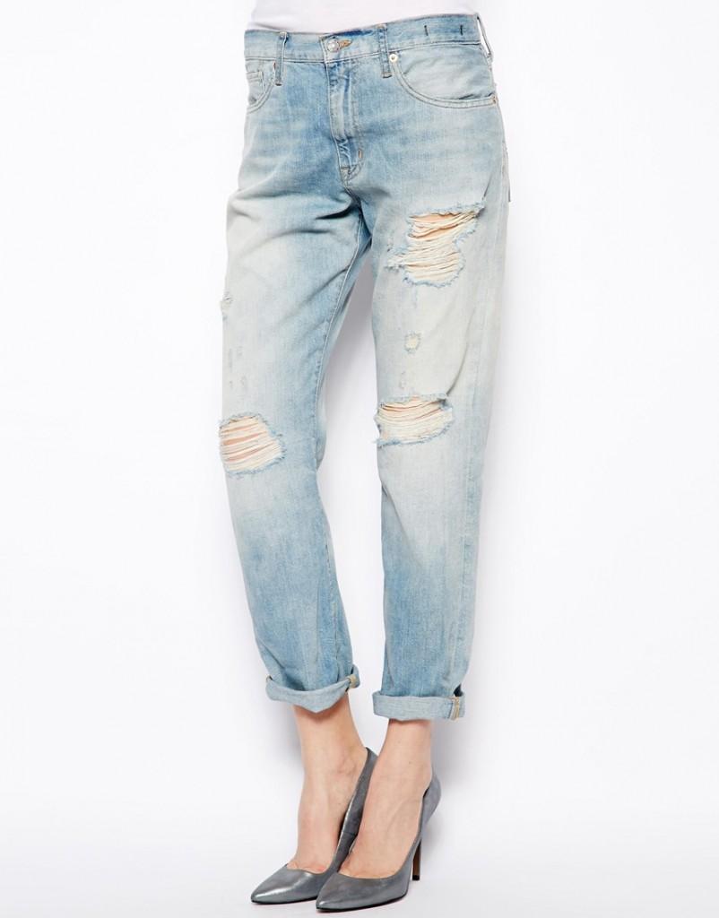 женские джинсы бойфренды купить