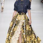 Обзор коллекций одежды из денима высокой моды в 2018 году часть I