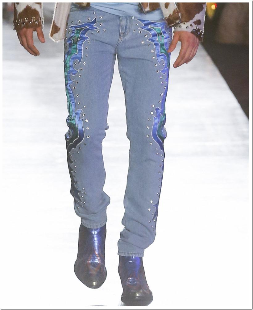 Весна 2018 Коллекции денима высокой моды от Moschino