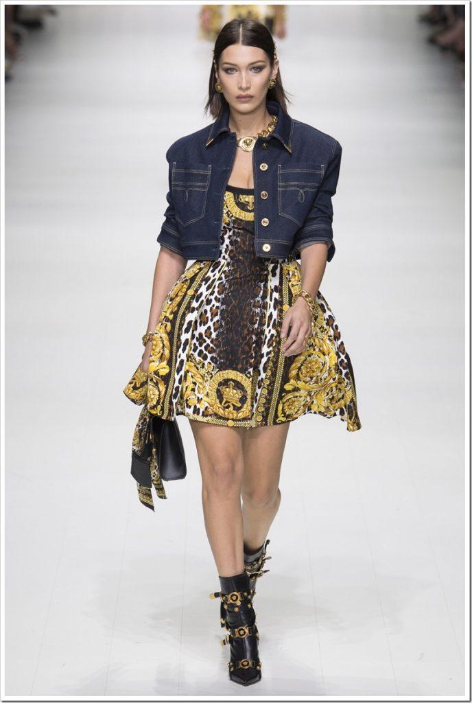 Одежда из денима от Versace-1