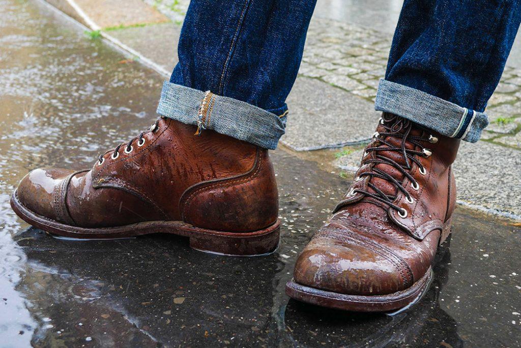 Как защитить свою кожаную обувь от дождя, слякоти и снега
