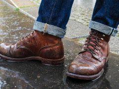 Как защитить свою кожаную обувь от дождя, слякоти и снега?