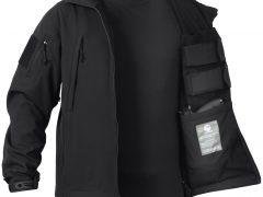 Куртка мембранная для скрытого ношение оружия Rothco Concealed Carry Soft Shell Jacket