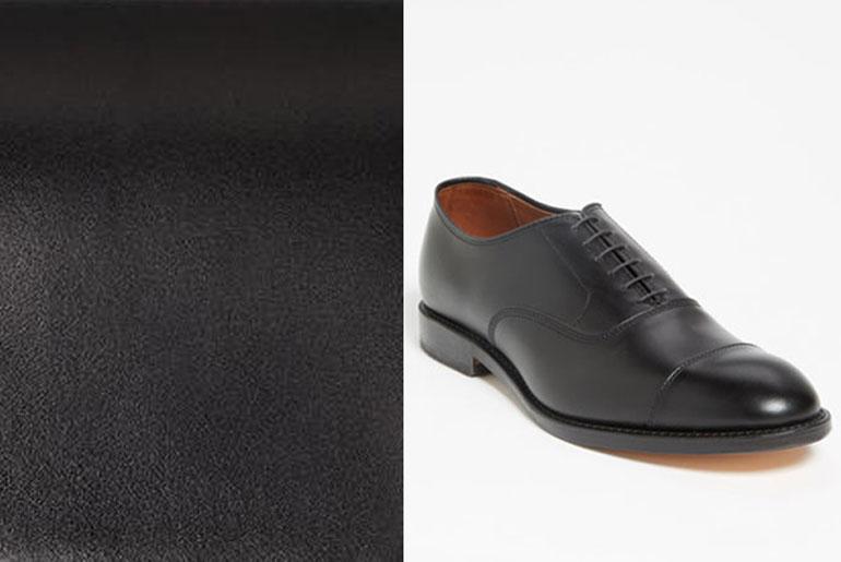 обувь с гладкой кожи