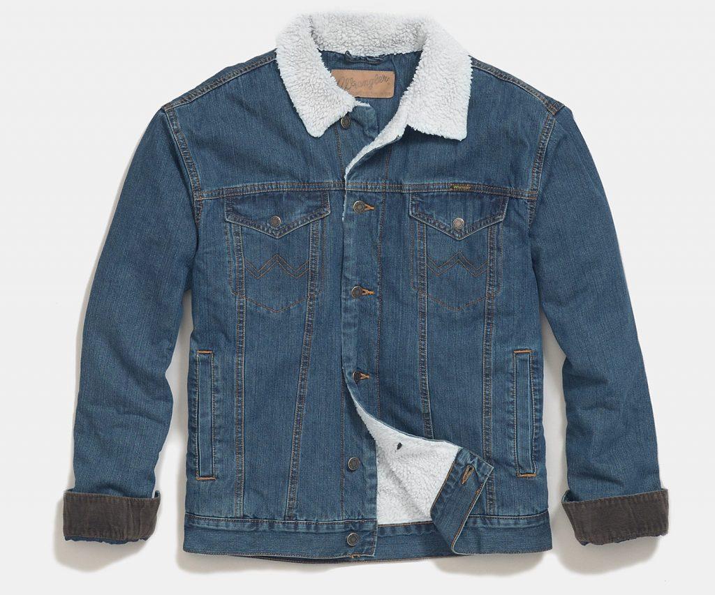 Зимние джинсовые куртки Wrangler