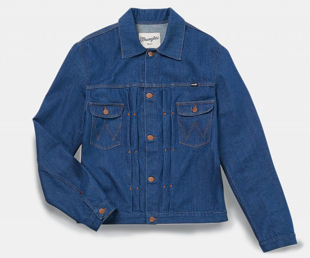 Ковбойские куртки Wrangler из денима
