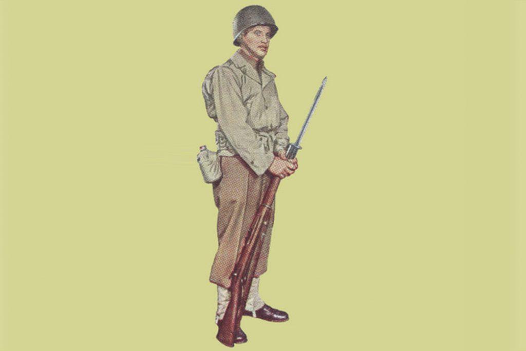 Боевая полевая униформа для умеренной температурной зоны. Изображение c USww2uniforms.