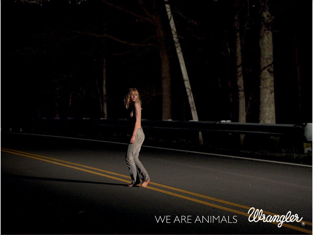 Рекламная компания Wrangler WE ARE ANIMALS
