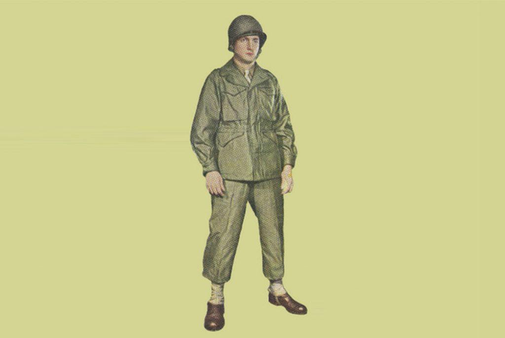 М-1943. Изображение c USww2uniforms.