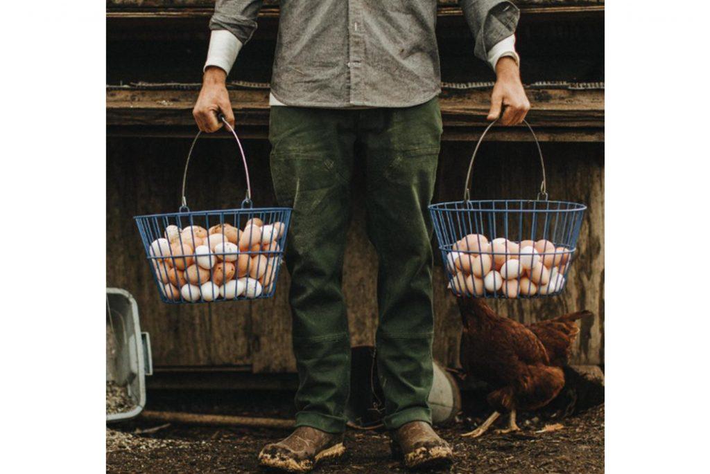 Рабочие штаны Taylor Stitch Chore Pant& Изображение с Taylor Stitch