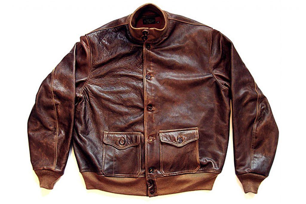 Летная куртка А-1. Изображение с Goodwear Leather.