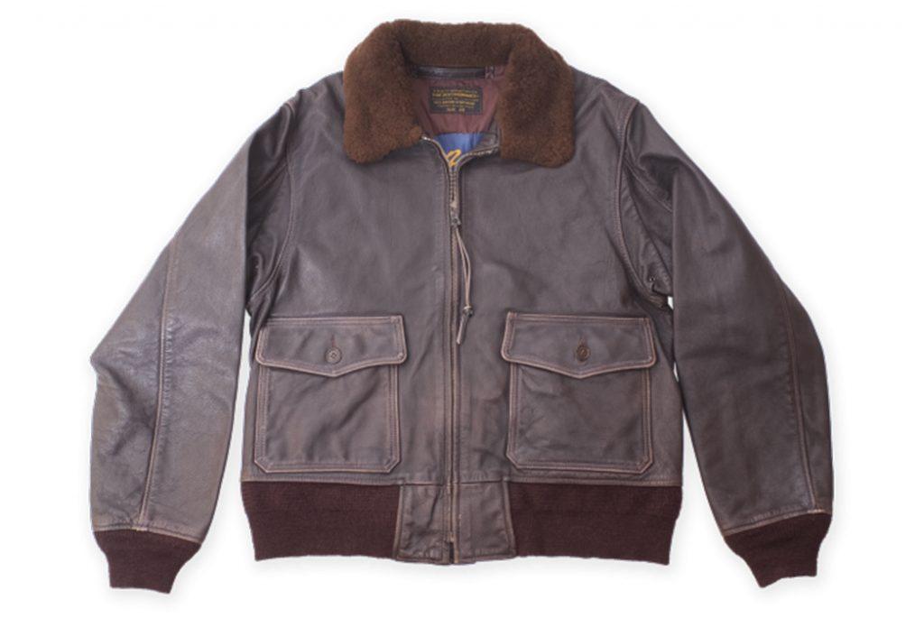 Репродукция куртки G-1 от Buzz Rickson. Изображение с Buzz Rickson