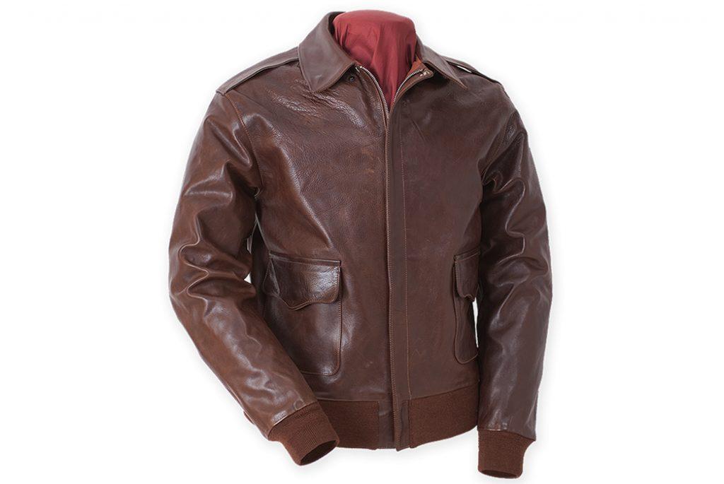 Кожаная куртка A-2 от Eastman Leather. Изображение с Eastman Leather.