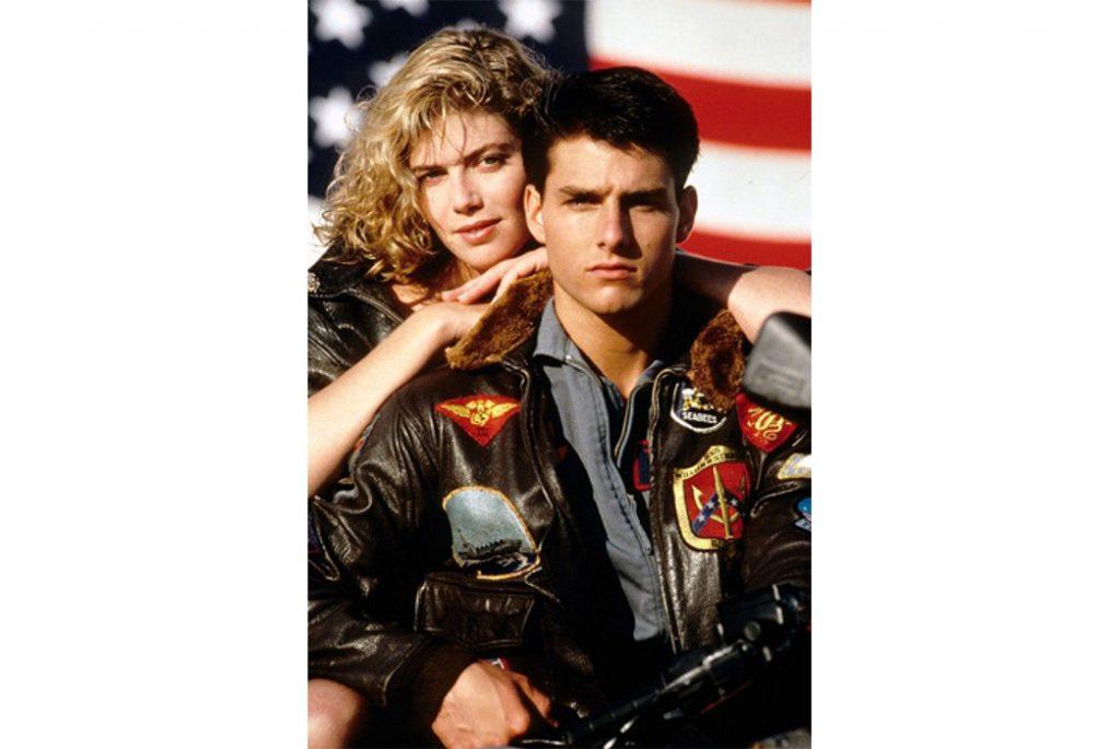 Лейтенант Пит Митчелл (Том Круз) в куртке G-1 в фильме «Лучший стрелок»/«Top Gun». Изображение через J4Jackets.