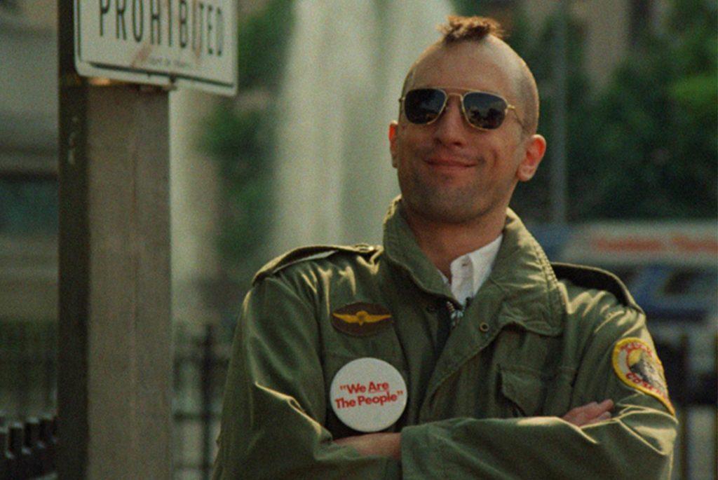Robert DeNiro в фильме «Taxi Driver». Изображение с Columbia Pictures.