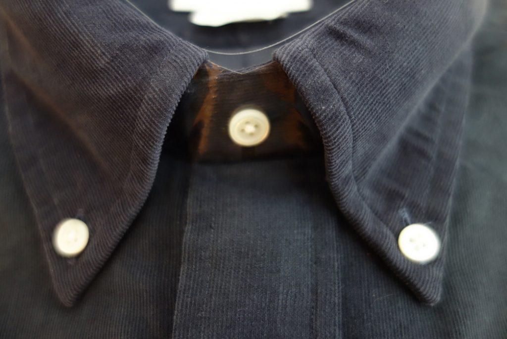 Рубашка, производства компании Brooks Brothers с вельвета пинкорд. Изображение с StyleForum.