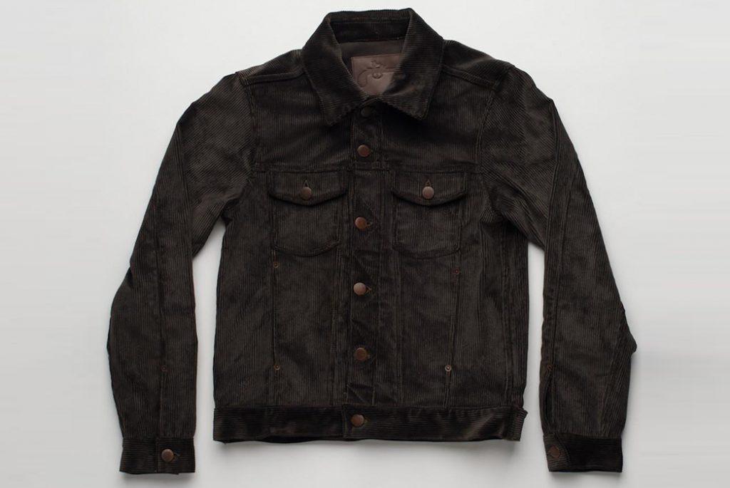 Вельветовая куртка трекер Freenote. Изображение с Freenote Cloth.