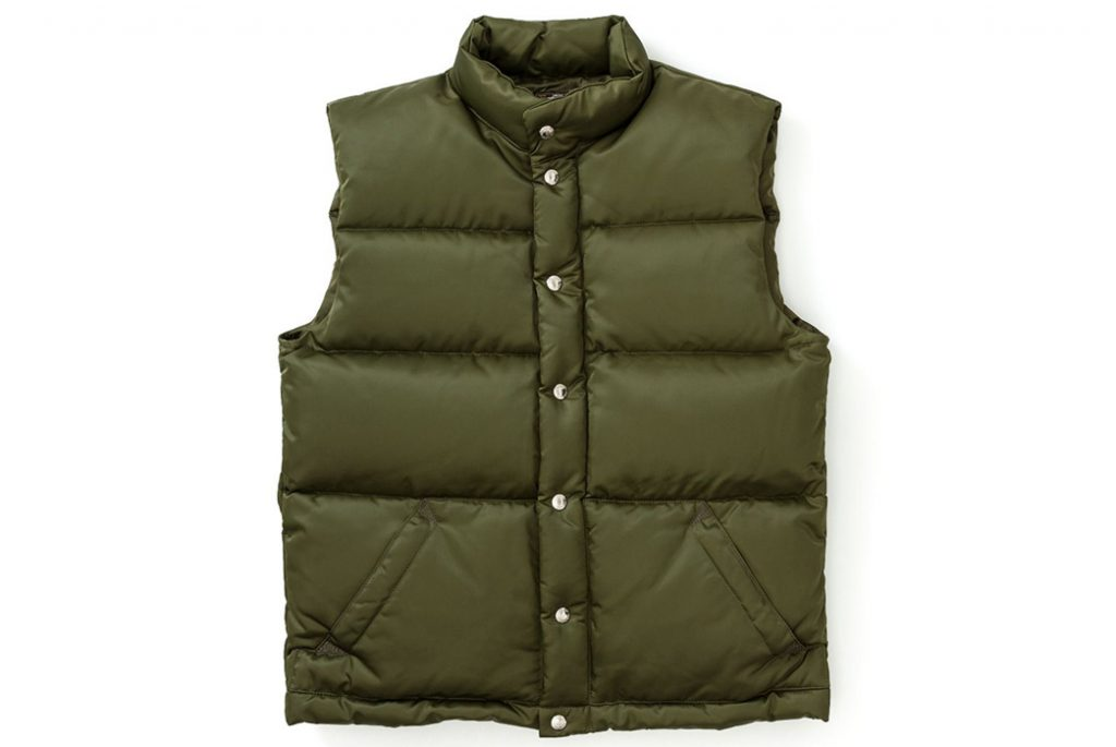 The Real McCoy's – Joe McCoy Nylon Down Vest