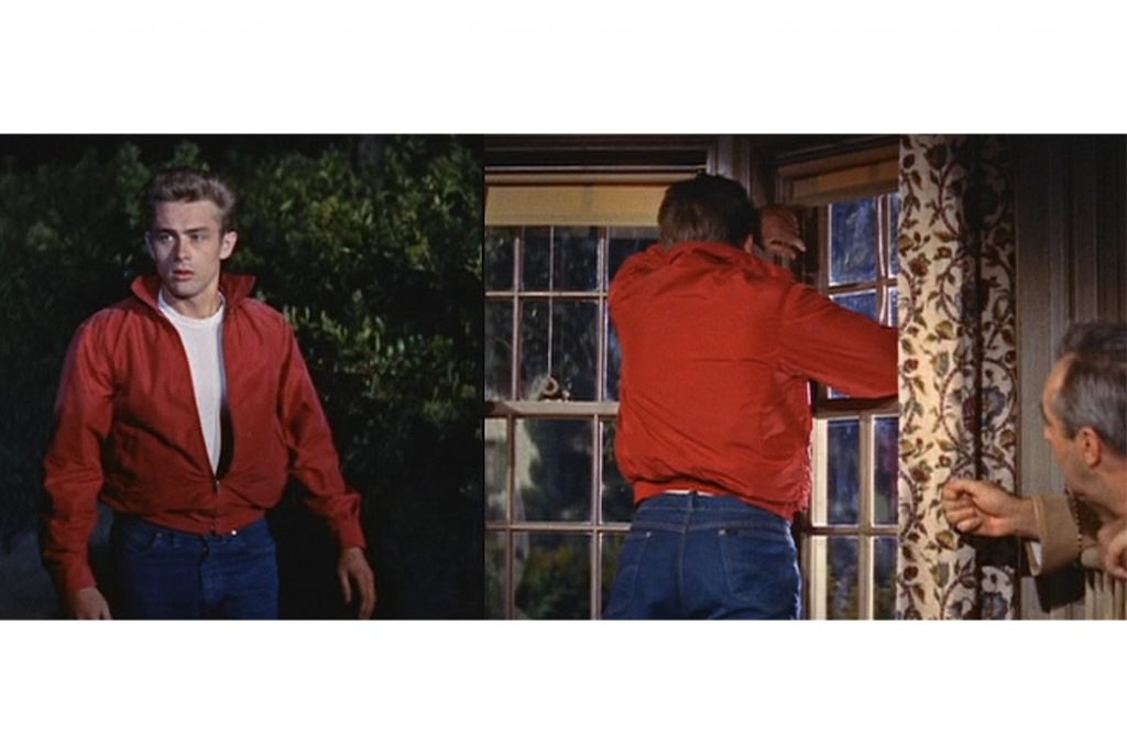 james dean in lee z in rebel without a cause image via bamf style