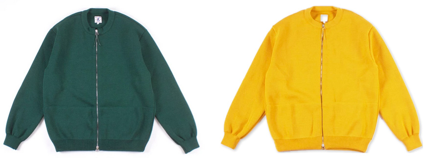 Arpenteur добавил яркие цвета в новые модели своих кардиганов