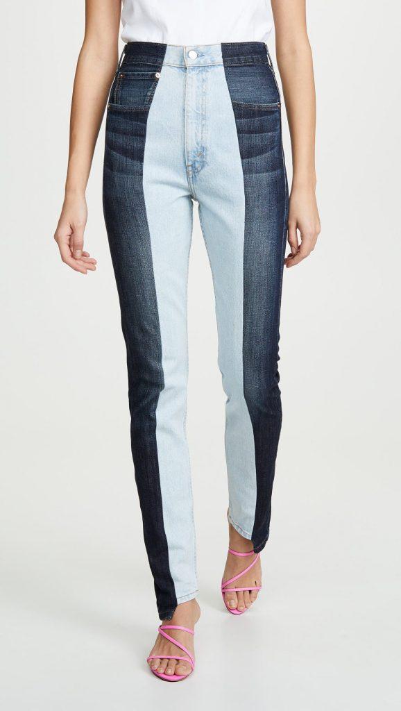 Прямые джинсы Twin бренда E L V
