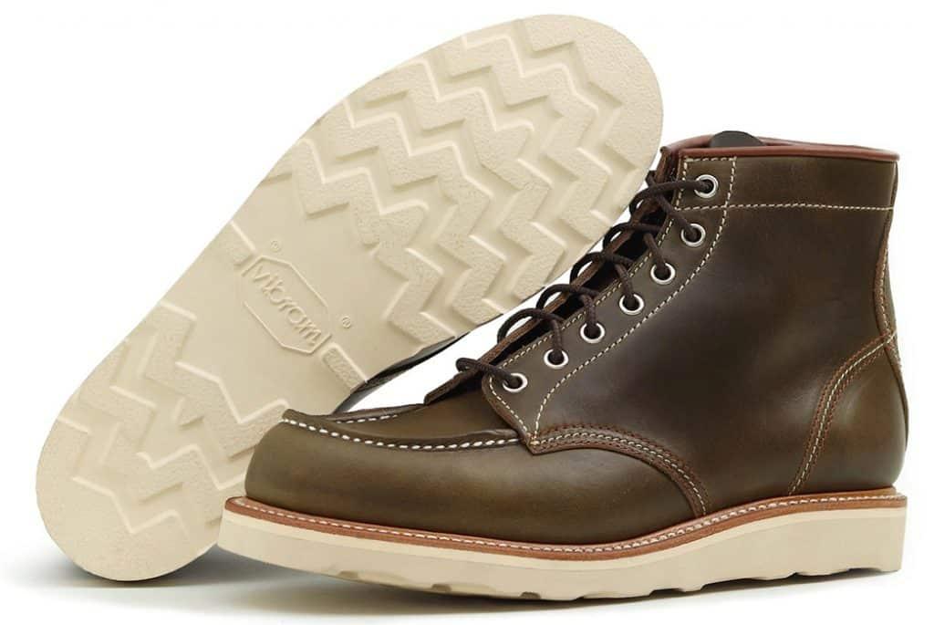 Темно зеленые ботинки John Lofgren