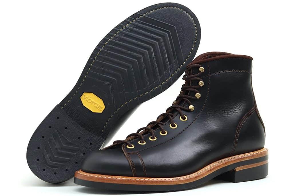 черные ботинки John Lofgren