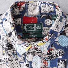 Gitman Vintage представил зимнюю льняную рубашку с принтом в стиле поп-арт
