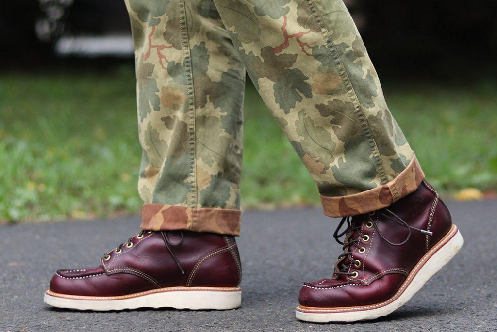 John Lofgren использовал в своей последней коллекции обуви технологии Moc Toes и Monkeys