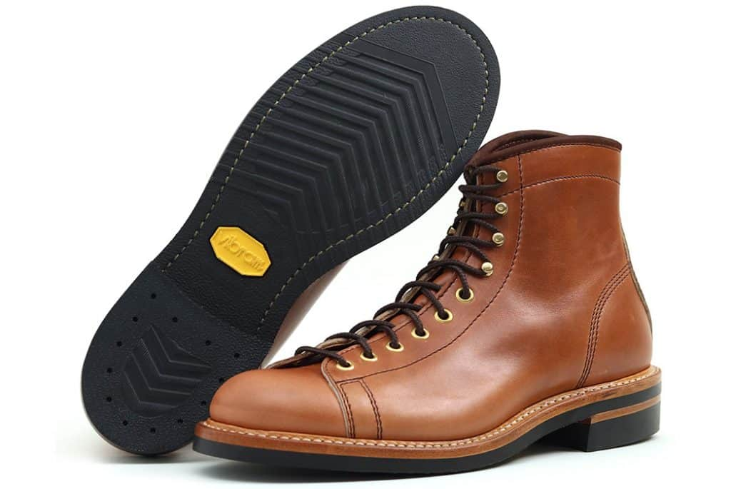 Коричневые ботинки John Lofgren