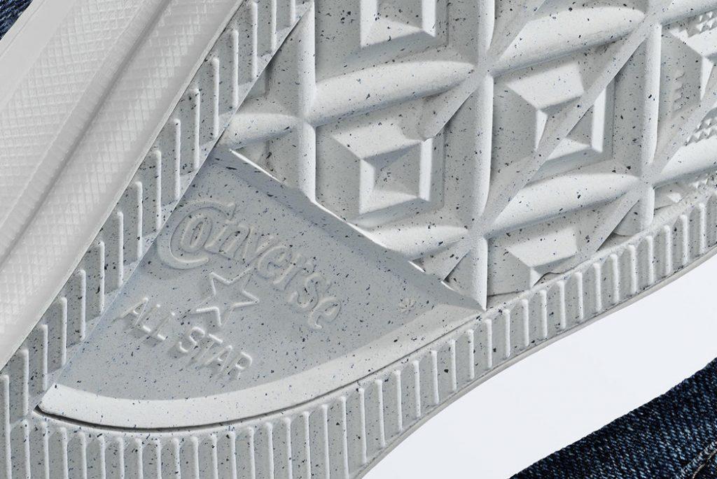 Резиновая подошва обуви Converse