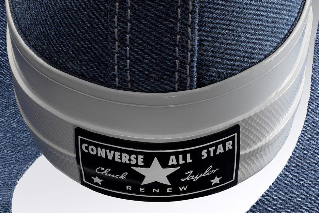 Фирменная надпись Converse