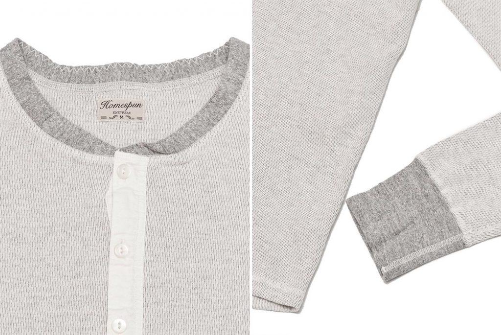 Рубашка Coalminer Henley от Homespun